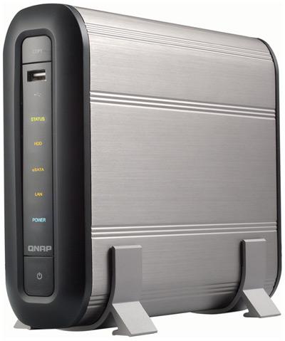 test mini nas server f r zuhause qnap ts 109 hardware mag. Black Bedroom Furniture Sets. Home Design Ideas