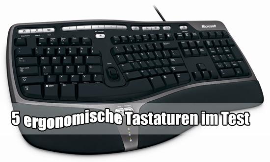 test 5 ergonomische tastaturen im test hardware mag. Black Bedroom Furniture Sets. Home Design Ideas