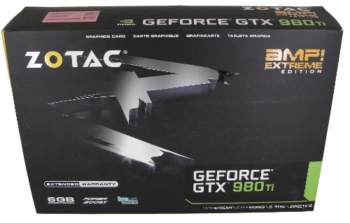 ZOTAC GeForce GTX 980 Ti AMP! Extreme Edition Review