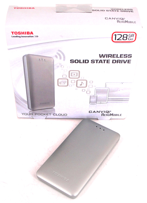 WLAN-SSD: Toshiba Canvio AeroMobile im Test