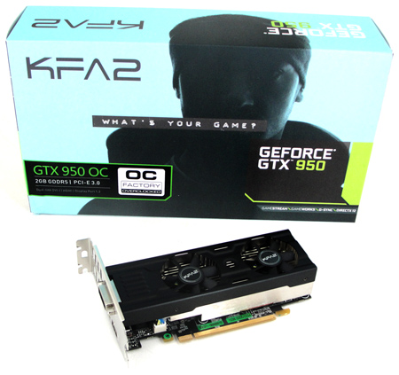 KFA2 GeForce GTX 950 OC Low-Profile im Test