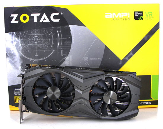 ZOTAC GeForce GTX 1080 Ti AMP Edition Review