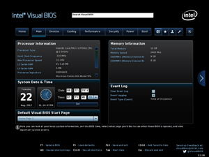 Intel Visual BIOS.