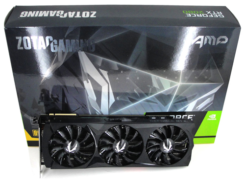 ZOTAC GeForce RTX 2080 AMP Review