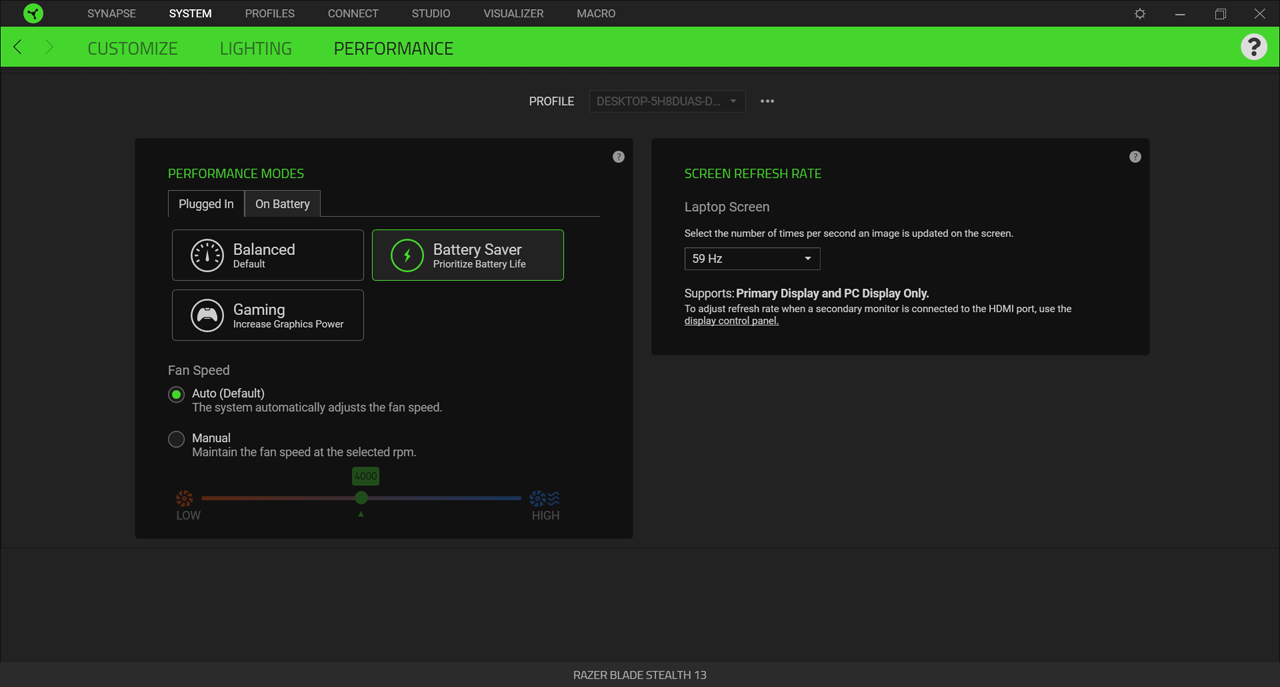 Razer-Software.