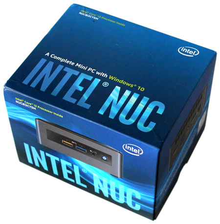 Crimson Canyon: Intel NUC Kit NUC8i3CYSM Review