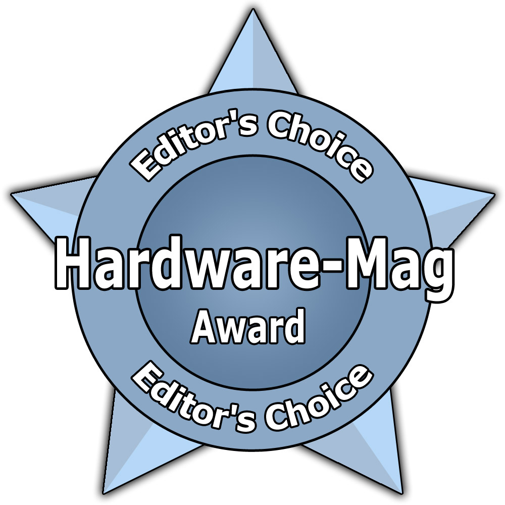 "Hardware-Mag Award ""Editor\'s Choice"""