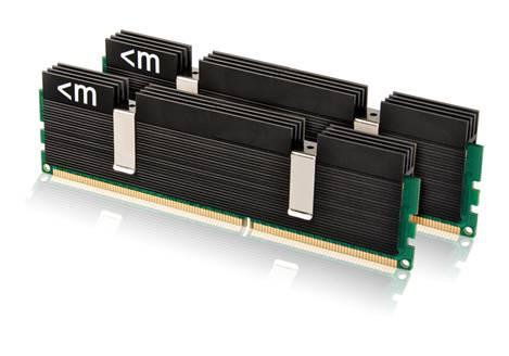 Mushkin DDR3-2000 mit Black Ascent Heatsink