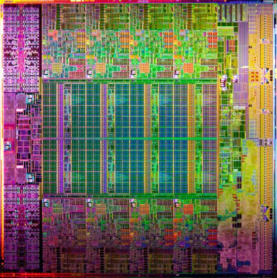 Intel Xeon E5 Die-Shot