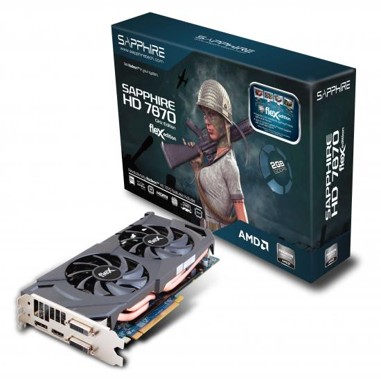 HD 7870 FleX Edition