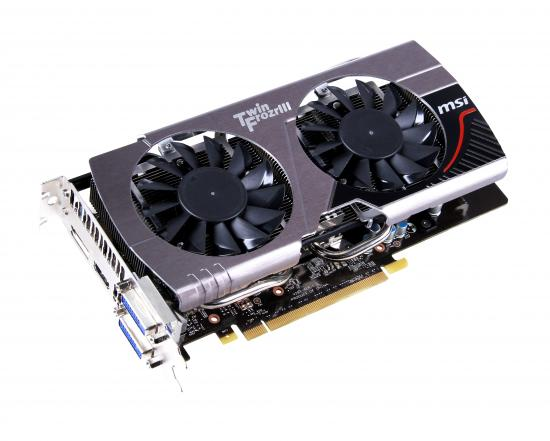 GTX 650Ti Boost Edition von MSI mit Twin Frozr III