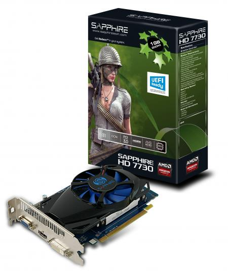 HD 7730 1 GB GDDR5