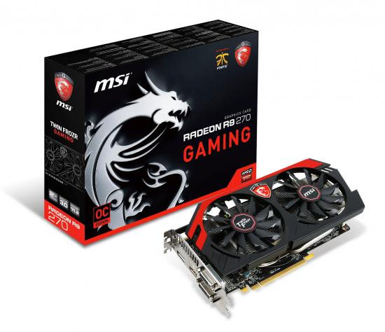 R9 270 GAMING mit Twin-Frozr-IV-Kühlung