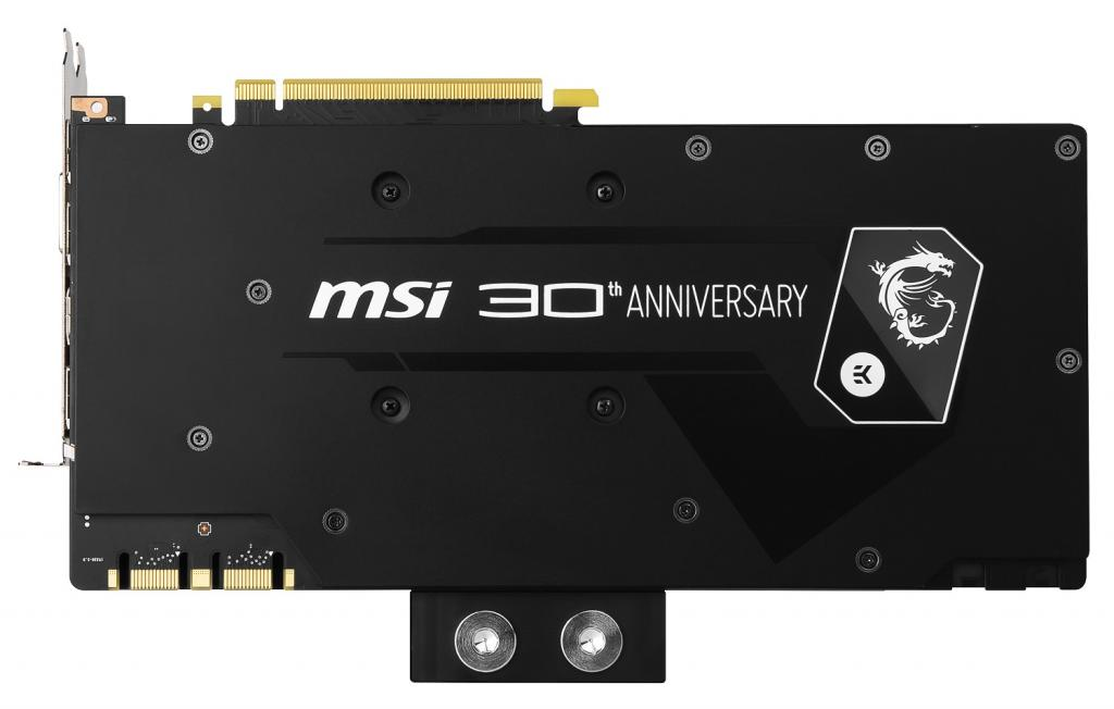 MSI GeForce GTX 1080 30th Anniversary Edition