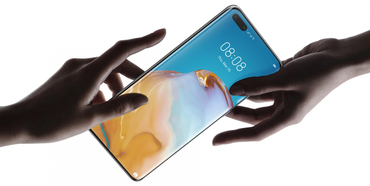 Huawei P40 Pro mit Quad-Curve Overflow OLED-Display